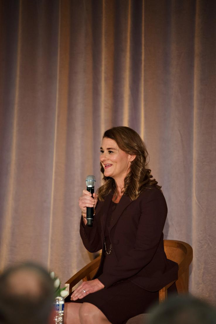Photo of Melinda Gates