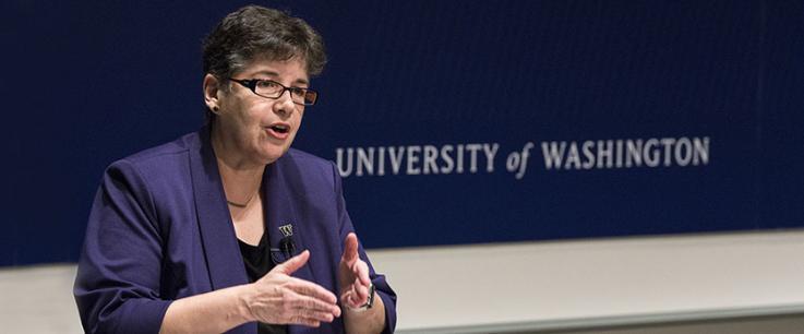 UW President Ana Mari Cauce