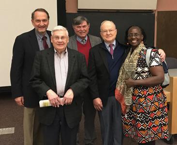 Photo of Dr. Bukusi and group.