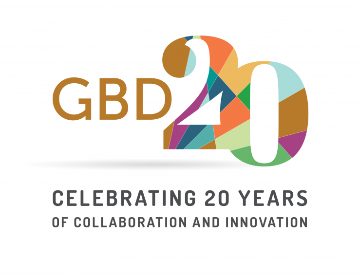 Image of the 20th Anniversary Global Burden of Disease Logo