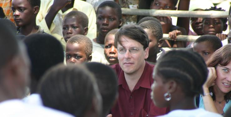 James Pfieffer in Mozambique