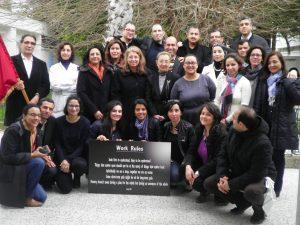 Leadership and Management in Health Course participants from Tunisia