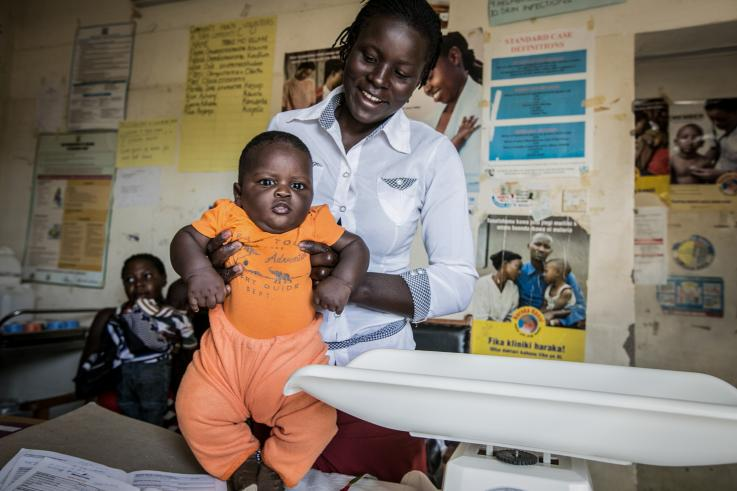 Photo of a baby in Naivasha, Kenya