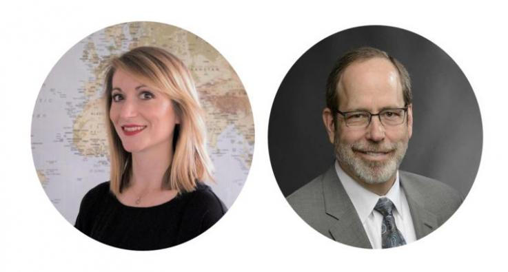 Jillian Pintye and Ben Anderson