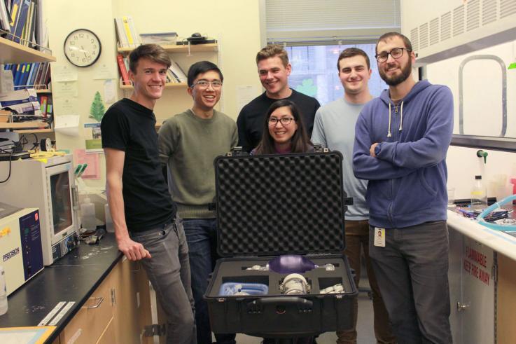 Photo of Bioengineering Without Borders team