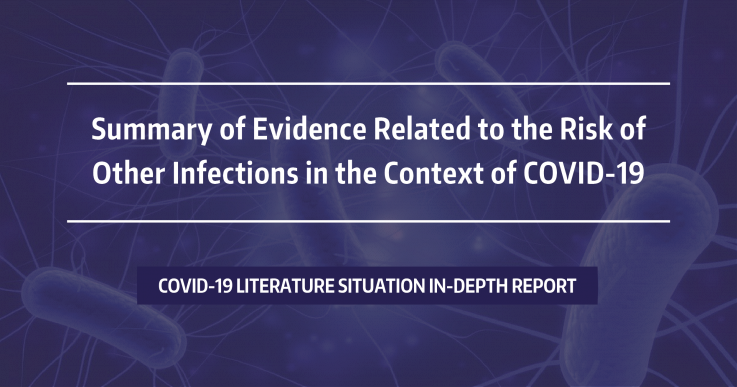 Summary of Evidence Related to the Risk of Other Infections in the Context of COVID-19