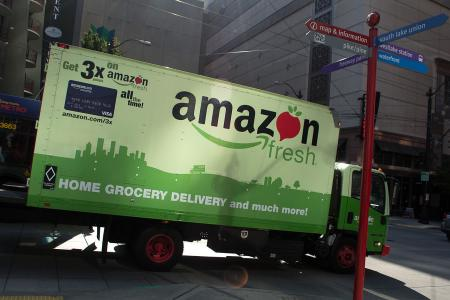 Photo of Amazon Delivery Truck