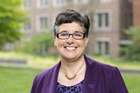 Photo of UW President Ana Mari Cauce