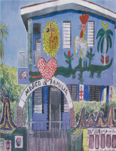 mural in Cuba