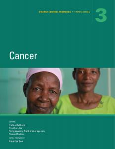 Cover of Cancer Volume