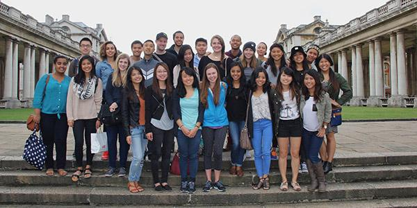 photo of students in Dark Empire study abroad program
