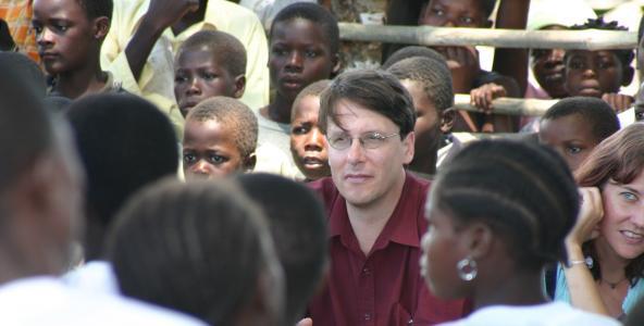 James Pfieffer in Mozambique