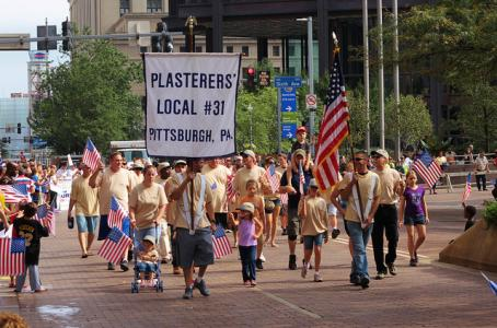labor day parade, pittsburgh 2012