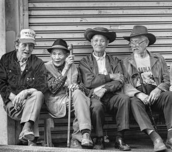 Older men in the Phillipines