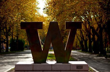 Photo of UW's Memorial Way