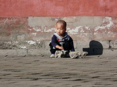 Child in Beijing, China