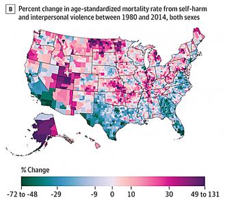 Graph of UW mortality rates