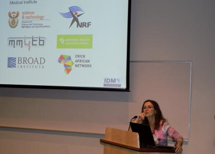 Valerie Mizrahi delivers her keynote speech