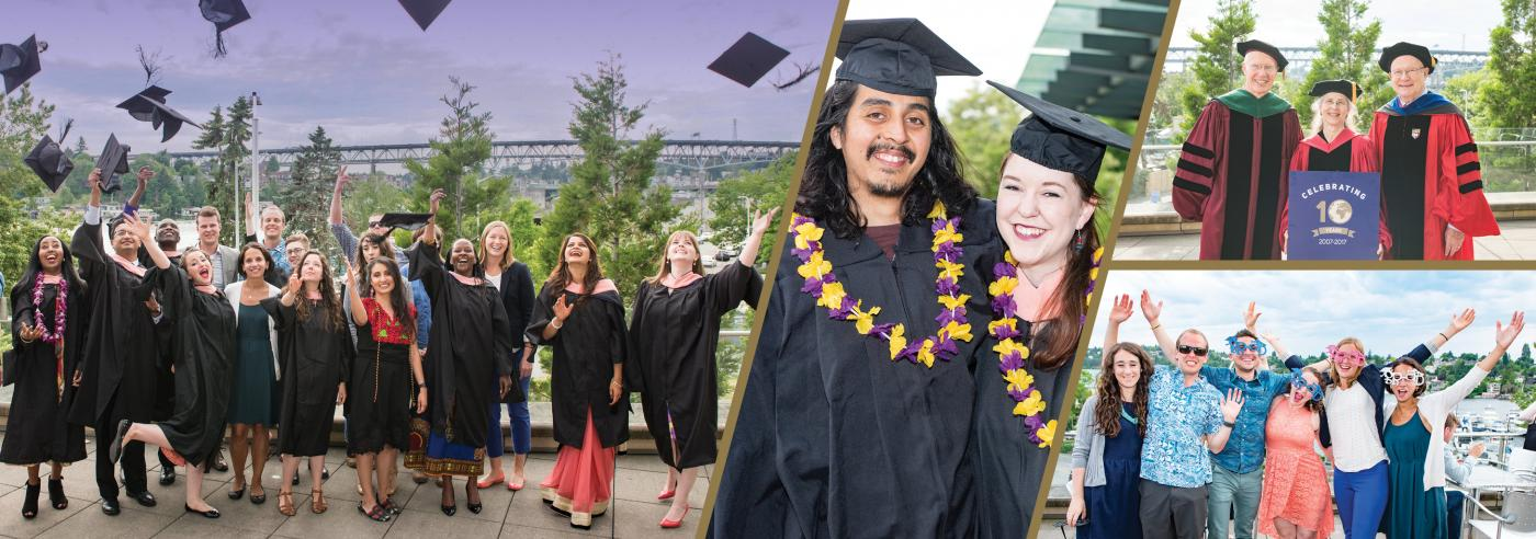 Photos of 2017 Global Health Graduates