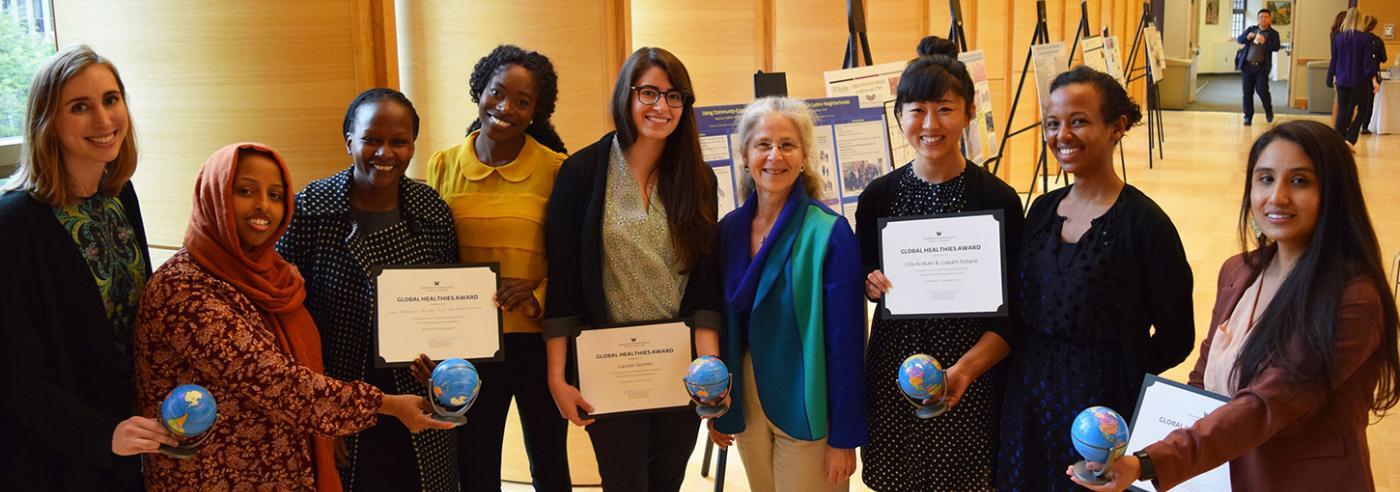 Photo of 2017 Global Healthies winners