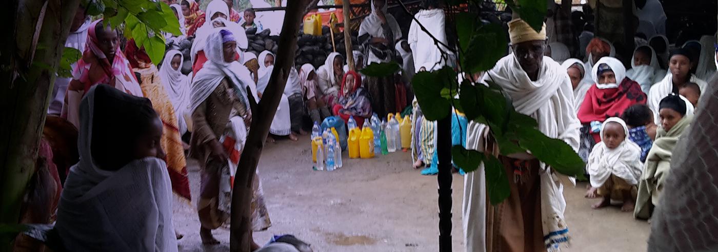 Religious festival in Ethiopia