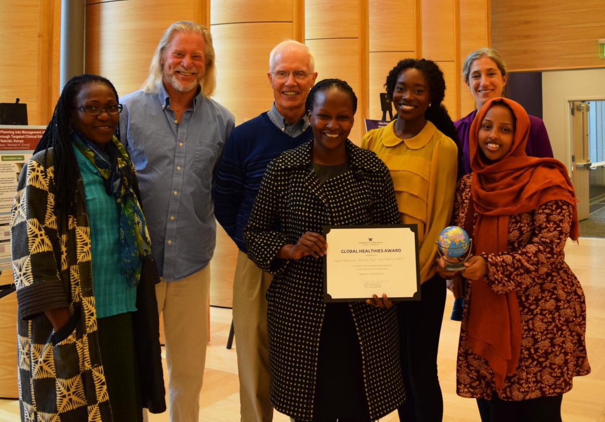 Photo of winners of the Oscar Gish Award