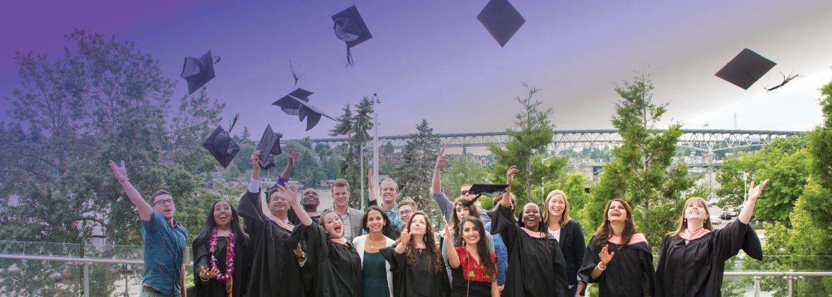 Photo of 2017 Global Health graduates.