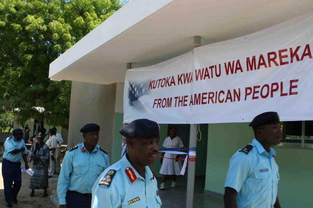Photo of a Tanzanian sign