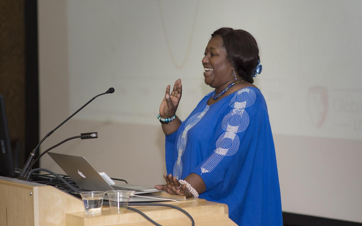Dr. Agnès Binagwaho Talks Global Health
