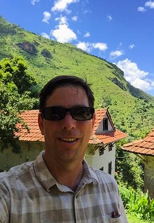 Photo of Bryan in Nepal