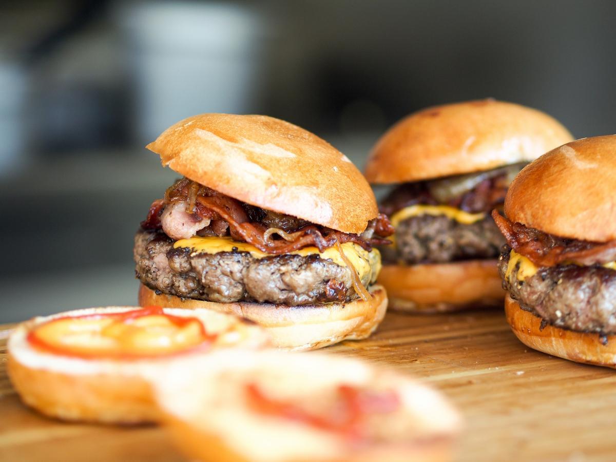 Photo of hamburgers