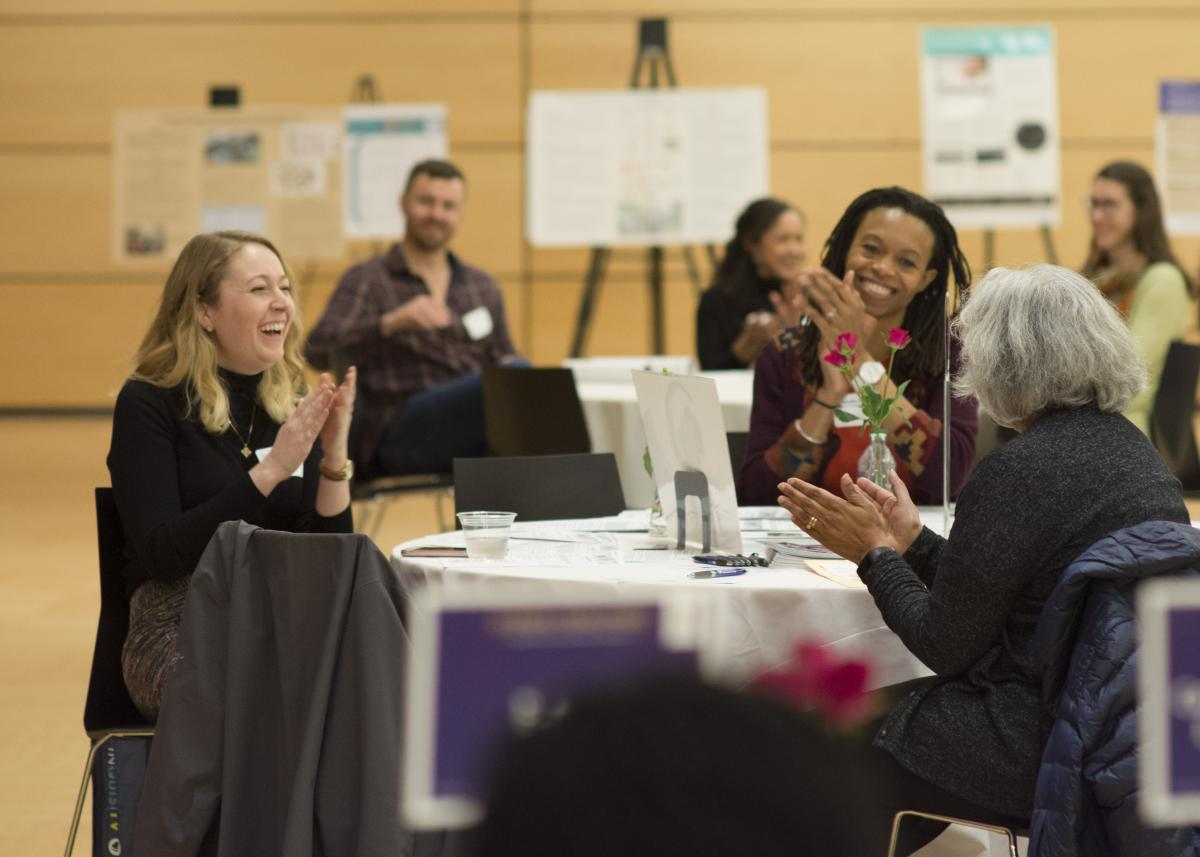More than 180 UW Department of Global Health students, faculty, and staff came together for the Global Healthies