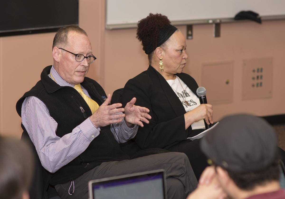Dr. Paul Farmer and Dr. Rachel Chapman reflect with UW students on equity as the key to global health.