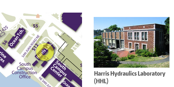 Harris Office Map GHRC