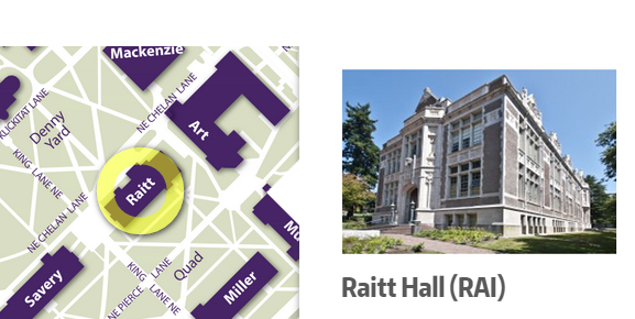 Raitt Hall Map GHRC