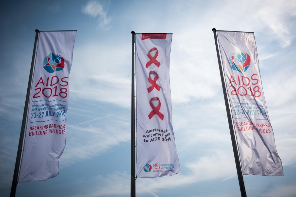 22nd International AIDS Conference. Photo by Marcus Rose/IAS.