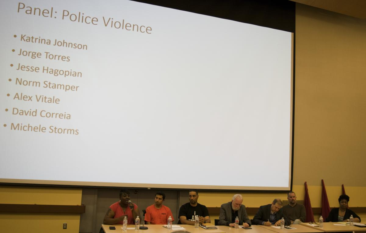 Panel discussion on police violence as a public health issue in Seattle