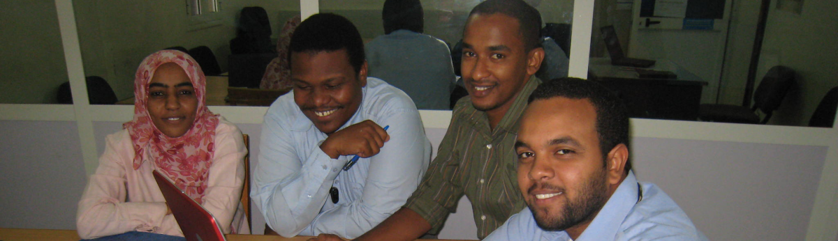 Leadership MPH students in Sudan