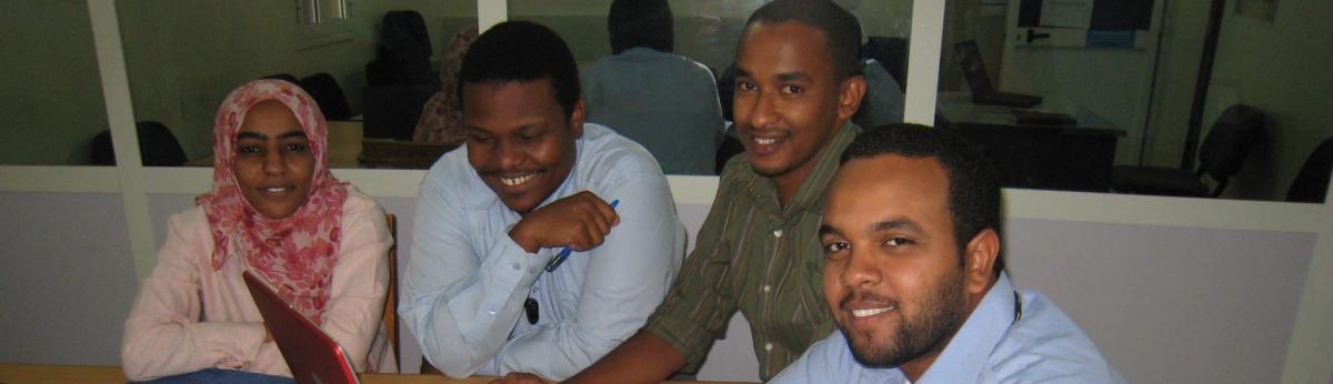 Leadership MPH students in Sudan
