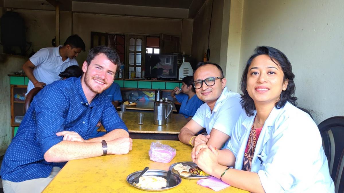 Shad Spooner in Nepal
