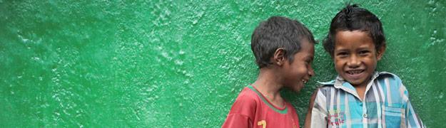 Photo of Children in Timor-Leste